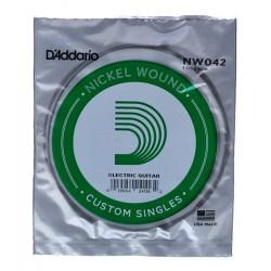 Corde de guitare filée Daddario NW042