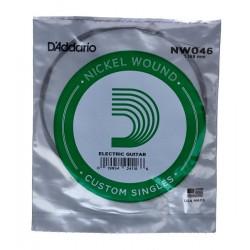 Corde de guitare filée Daddario NW046