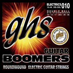 Jeu de cordes électrique GHS double boules Boomers regular 10-46