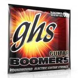 Jeu de cordes électrique GHS Boomers Extra Light 09-11-16-24-32-42