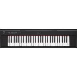 Piano d'étude Yamaha NP12B 61 notes noir