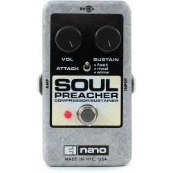 Pédale Electro Harmonix Soul Preacher Nano compresseur