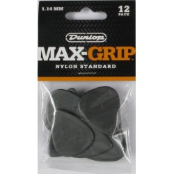 Players pack médiators Dunlop Max Grip 1.14mm