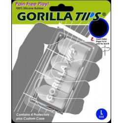 Protège doigts pour guitariste Gorilla Tips taille L