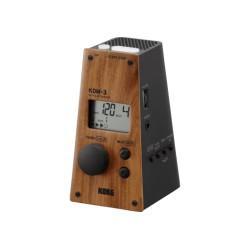 Métronome électronique Korg KDM-3 WDBK façade bois