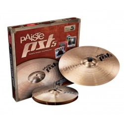 Pack cymbales Paiste PST5 essential