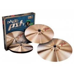 Pack cymbales Paiste PST7 Rock set