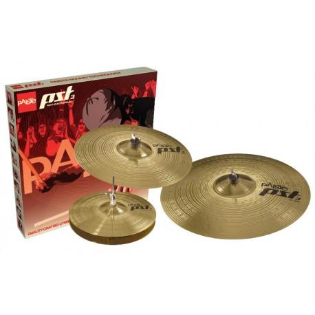 Pack cymbales Paiste PST3 universal