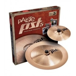 Pack cymbales Paiste PST5 Effects