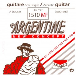 Cordes de guitare acoustique jazz Argentine à boucle light