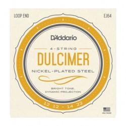 Cordes Daddario pour Dulcimer EJ64