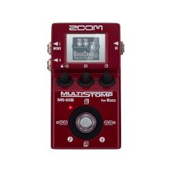 Pédale multi-effets compacte basse Zoom MS-60B