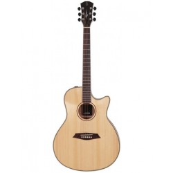 Guitare électro-acoustique Sire A3 GS grand auditorium naturelle