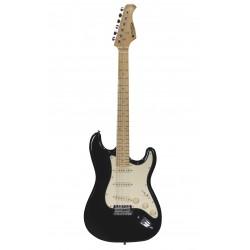 Guitare électrique Prodipe ST80 Maple noire