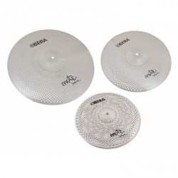Pack cymbales silencieuses Obera Mute 3 cymbales