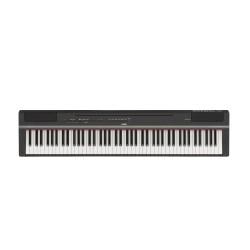 Piano numérique portable Yamaha P125B noir