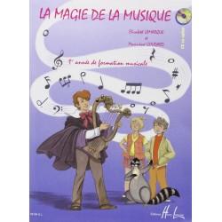 La magie de la musique Vol.1 LAMARQUE Elisabeth / GOUDARD Marie-José