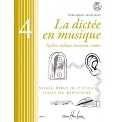 La dictée en musique volume 4 début du 2eme cycle