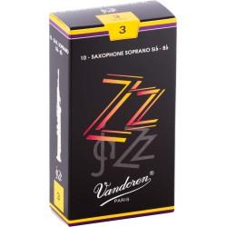 Boite de 10 anches saxophone alto Vandoren ZZ force 3