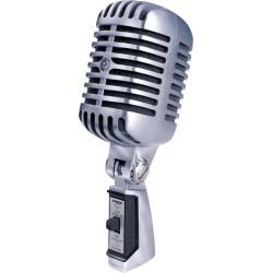 Micro chant Shure 55SH Tête de mort dynamique cardioïde