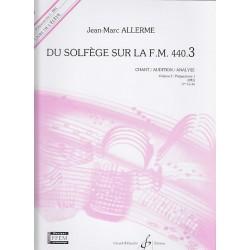 Du solfége sur la FM440.3 Chant/Audition/Analyse élève
