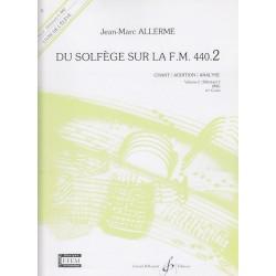 Du solfége sur la FM440.2 Chant/Audition/Analyse élève