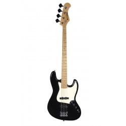 Basse électrique Prodipe JB80 jazz noire manche érable