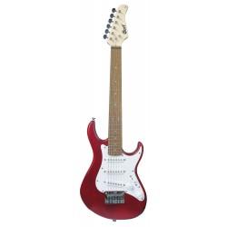 Guitare électrique Cort G100 Junior OPBC rouge Cherry