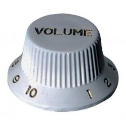 Bouton de volume blanc type Strat