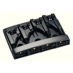 Chevalet de basse 4 cordes Schaller 3D Black chrome