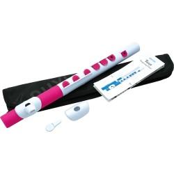 Flute traversière pour enfant Nuvo Toot N430 blanche et rose