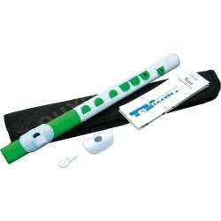 Flute traversière pour enfant Nuvo Toot N420 blanche et verte