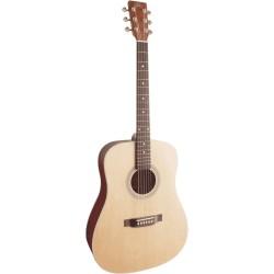 Guitare folk débutant SX SD204 Dreadnought
