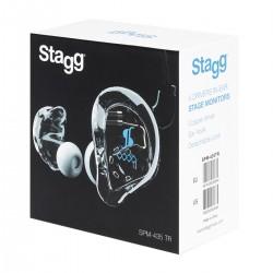 Ecouteurs Stagg pour Ear monitor SPM-435 transparents