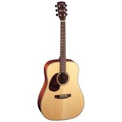 Guitare folk gaucher Cort Earth 100L naturelle