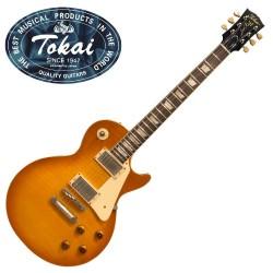Guitare électrique Tokai ASL62 Flamed Honey Burst