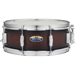 Caisse claire Pearl Decade Satin Brown Burst 14x5.5