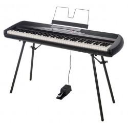 Piano numérique portable Korg SP280 BK