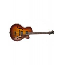 Guitare électrique Godin 5Th Avenue CW Kingpin II Cognac burst