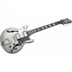 Guitare électrique Hagstrom Alvar SFT Swedish Frost