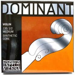 Jeu de cordes violon 1/2 Thomastik Dominant medium 135