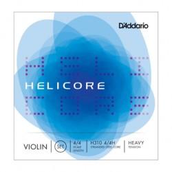 Cordes de violon 4/4 Daddario Helicore tension forte