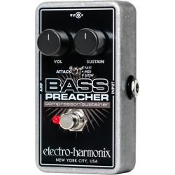 Pédale basse compresseur Electro Harmonix Bass Preacher