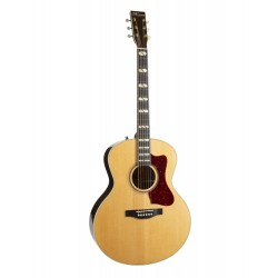 Guitare électro Norman Studio ST68 MJ Natural Cedar Anthem avec étui Tric