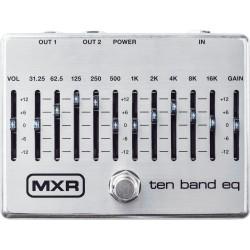 Pédale guitare et basse équaliseur MXR M108S