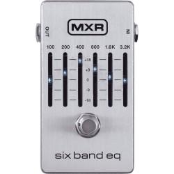 Pédale guitare équaliseur 6 bandes MXR M109S