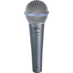 Micro chant Shure Beta 58A