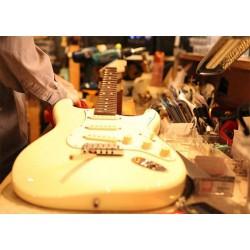 Forfait réglage sur guitare électrique à vibrato flottant