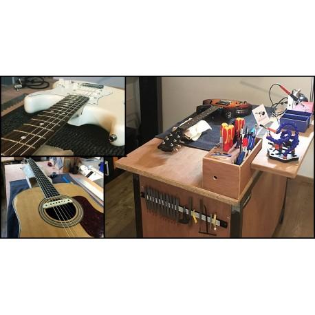 Forfait réglage sur guitare acoustique