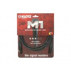 Cable micro XLR Klotz M1 Neutrik 1 metre